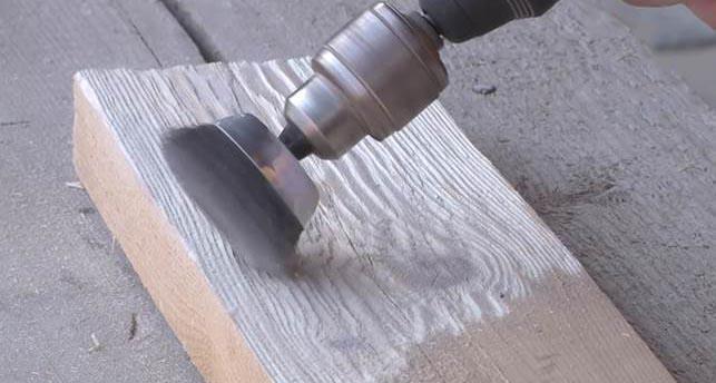 Искусственное состаривание древесины своими руками видео
