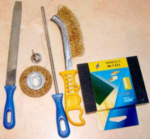 Инструменты для браширования в декупаже