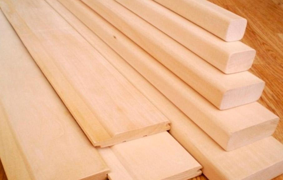 Вагонка из мягкой древесины липы