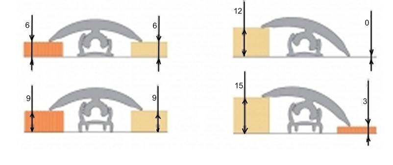 Соединение плитки и ламината разной высоты